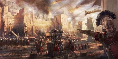 wall siege